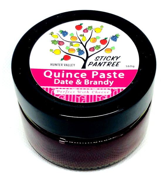 Quince Paste with Date & Brandy