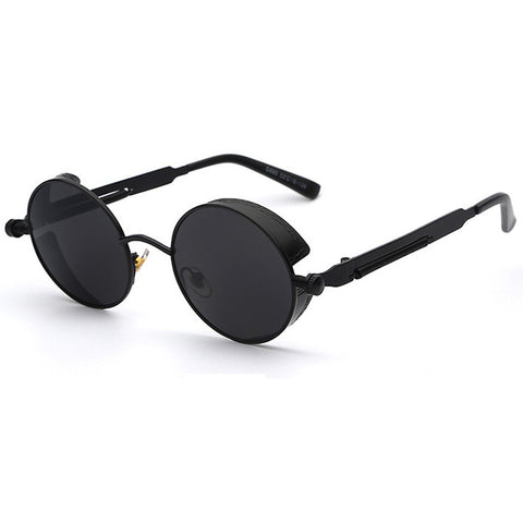 Matte Black Steampunk Sunglasses