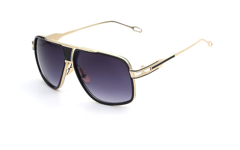 Gold Smoke Vintage Sunglasses