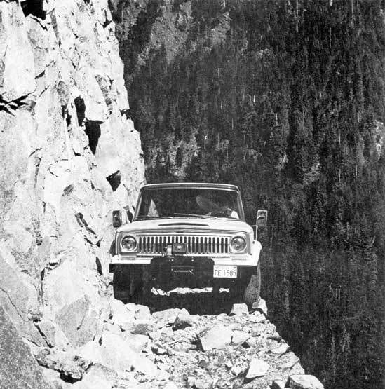 cliff off road jeep