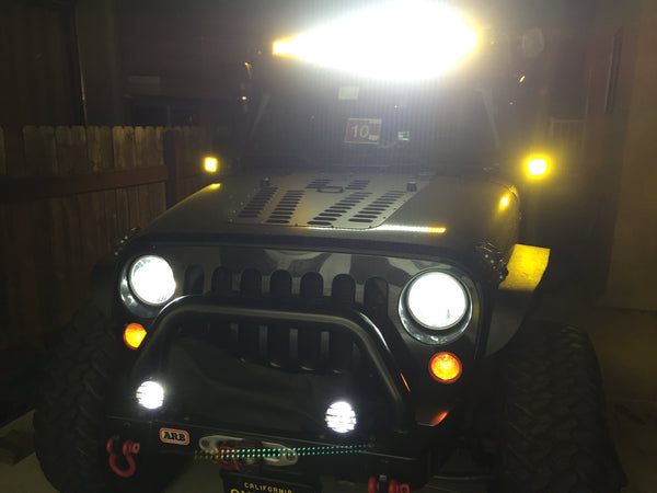 offroad lights offroading off road light bar rigid industries