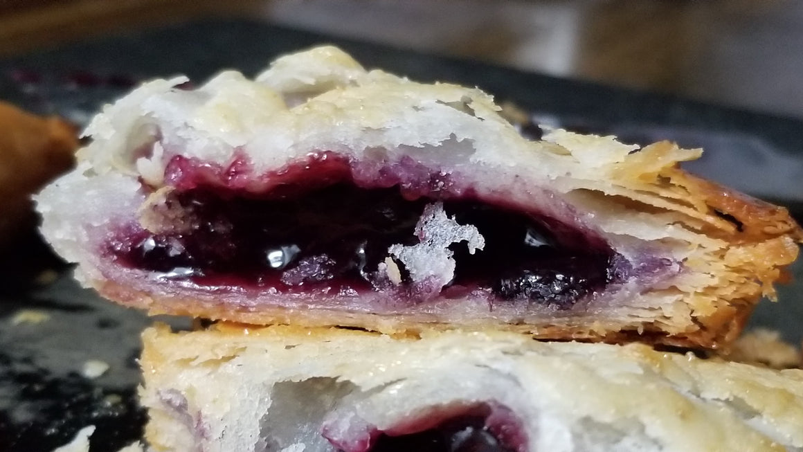 Vegan Blueberry Turnovers