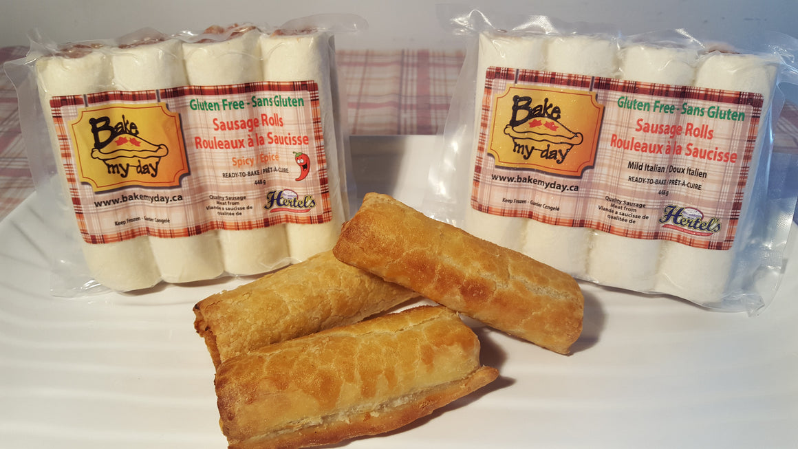 'Ready-to-Bake' Sausage Rolls - 4 pack