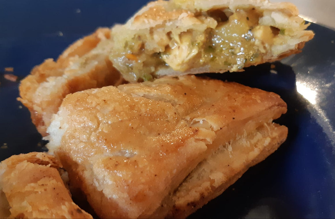Dairy-Free Chicken Curry Hand Pies
