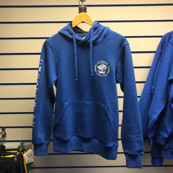Chester FC Childrens Hoodie (Royal or Black)