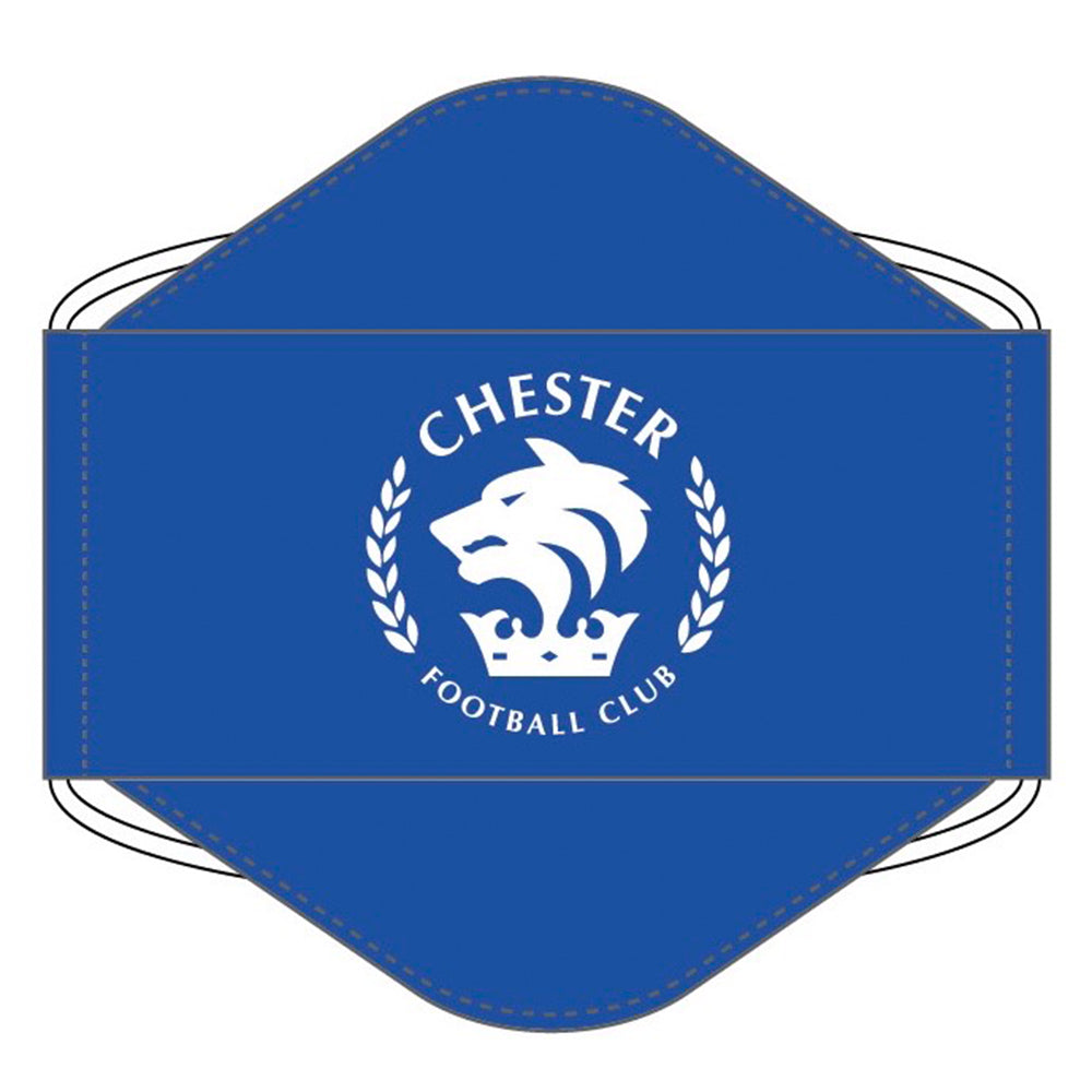 Chester FC Face Mask