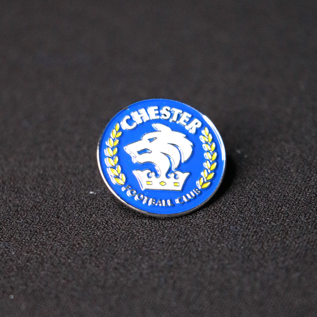 Chester FC Blue Pin Badge