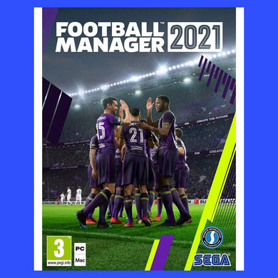 Football Manager 2021 (PC/Mac Game)