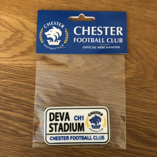 """Deva Stadium"" Fridge Magnet"