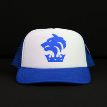 Mesh Blue & White Cap