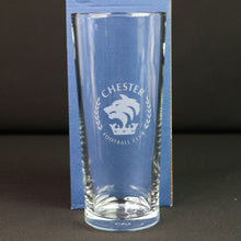 Chester FC Pint Glass