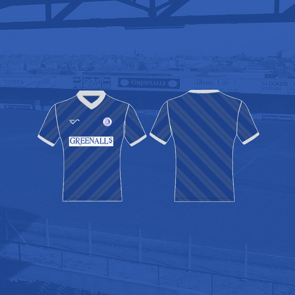 Chester City 1989/90 Retro Shirt Adult