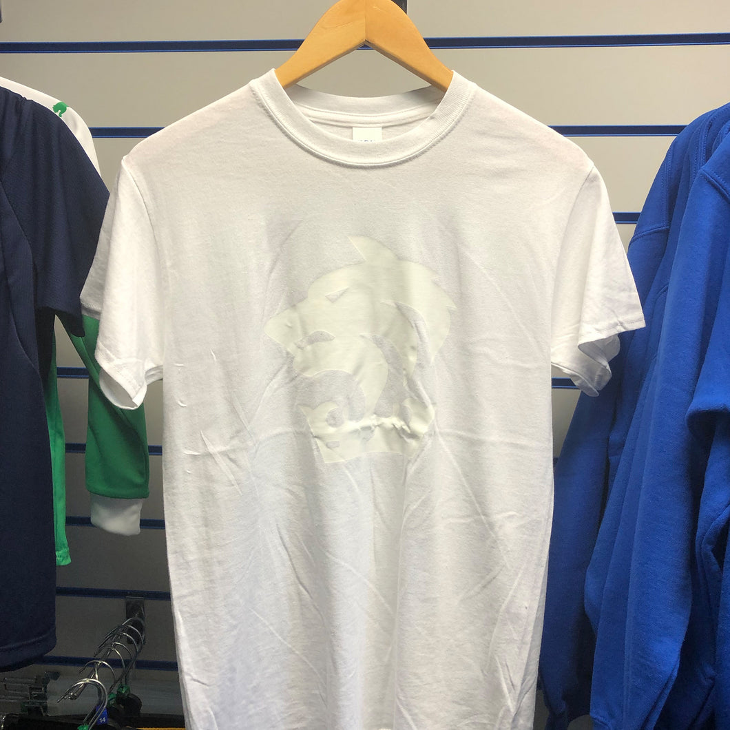 Chester FC Crest Junior White T-Shirt