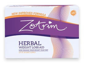 Zotrim 180 Tablets - Herbal Weight Loss