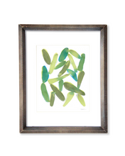 Organic Shapes - Watercolor Print - No.3
