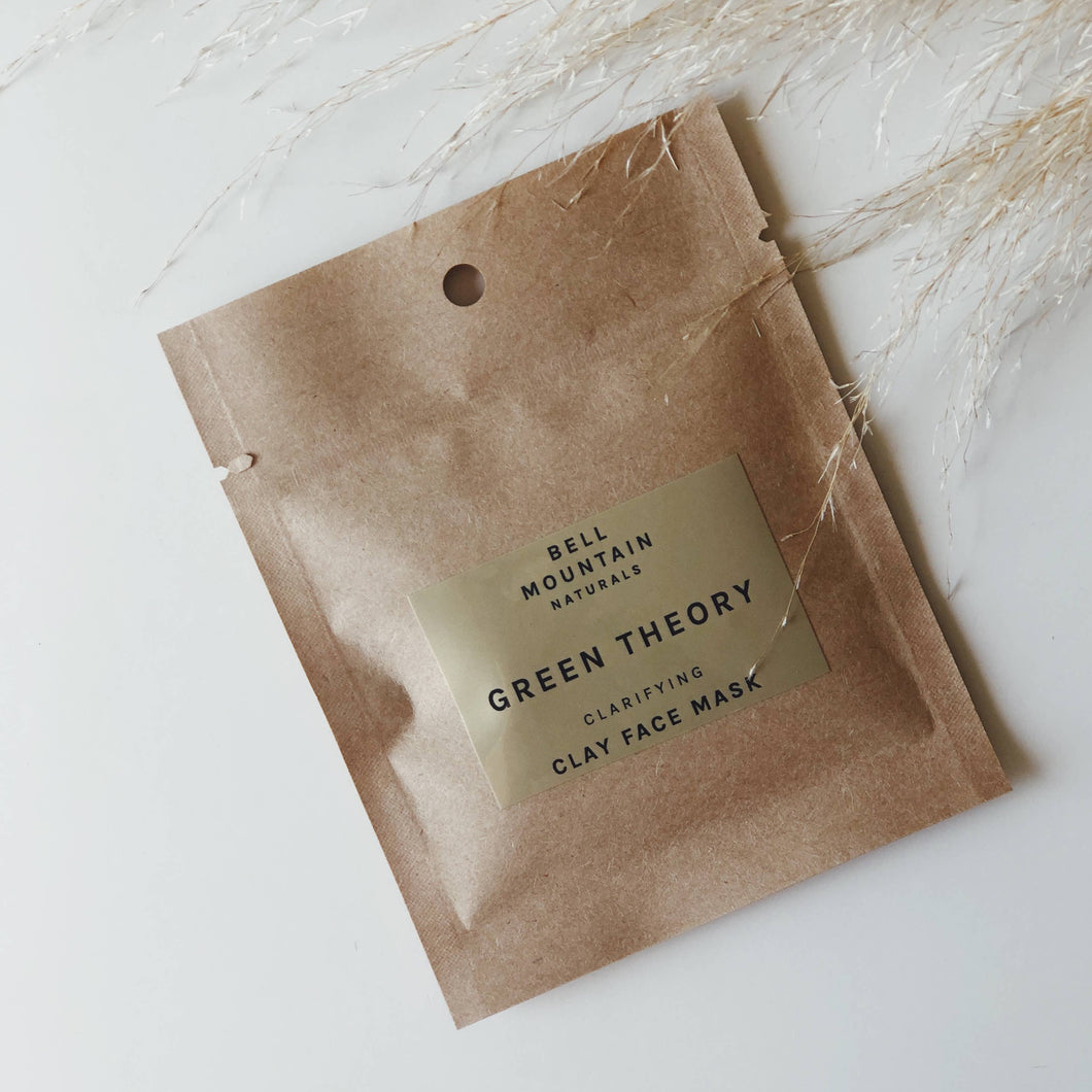 Green Theory Clay Mask Sample pack
