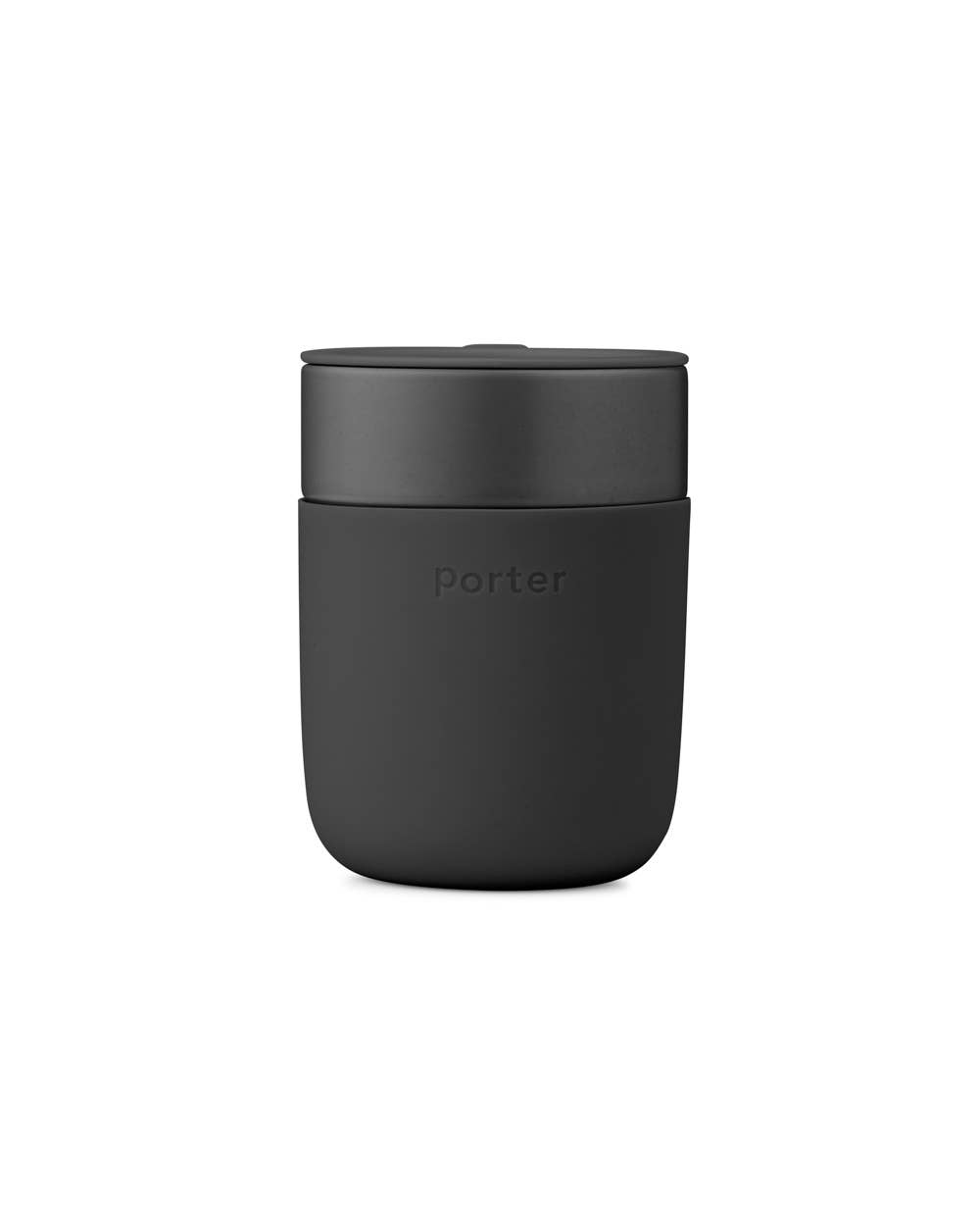 Porter Ceramic Mug 12oz - Charcoal Gray