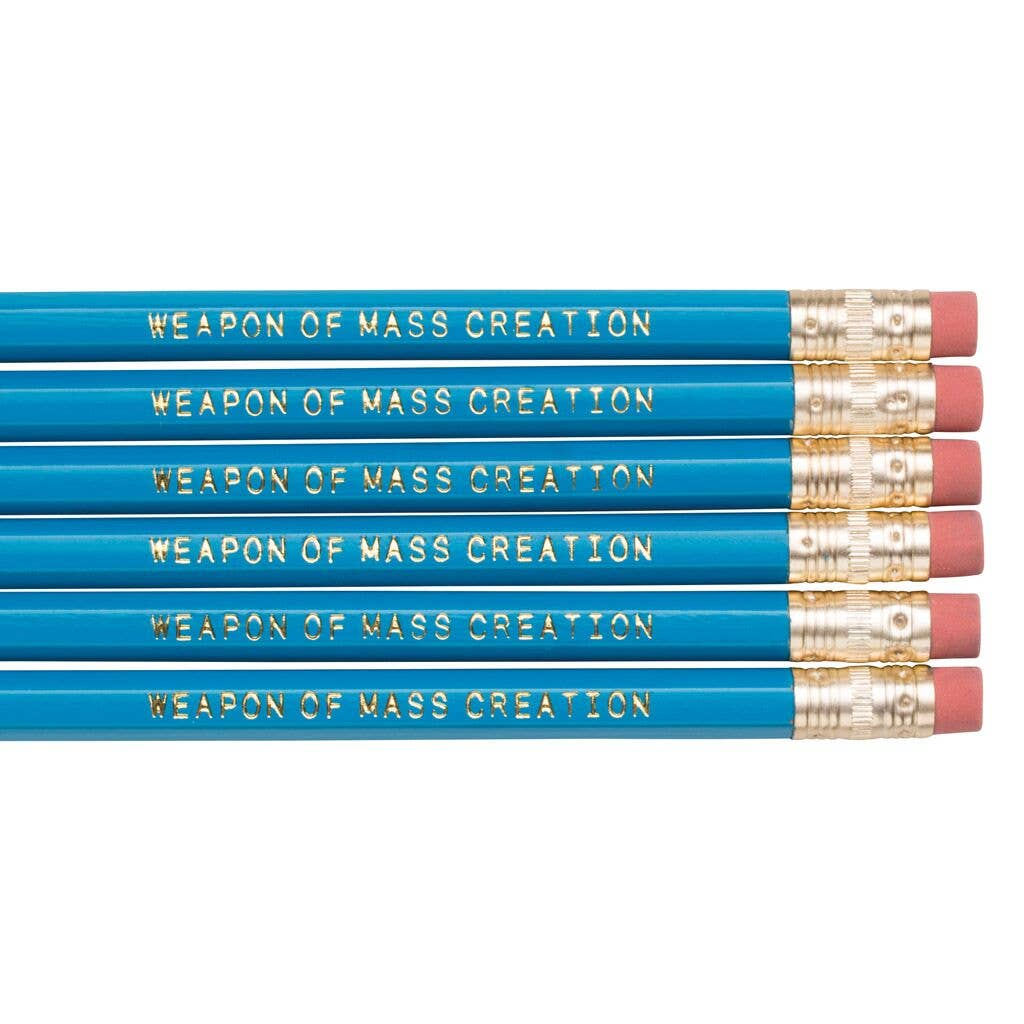 WEAPON OF MASS CREATION Pencil Set