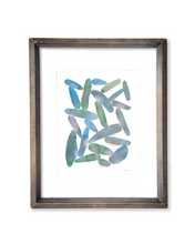 Organic Shapes - Watercolor Print - No.2