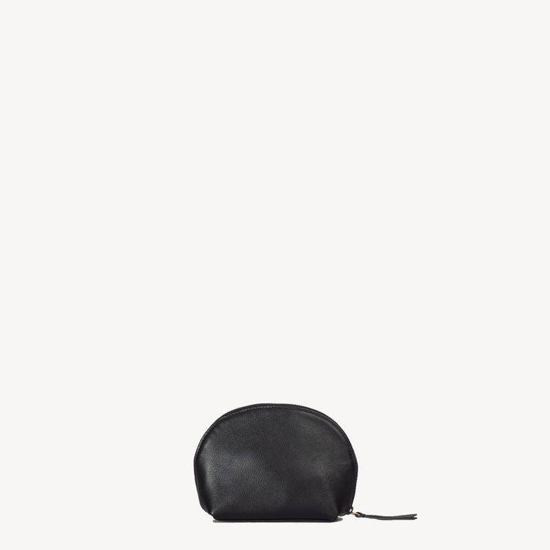 Ara Black Leather Pouch
