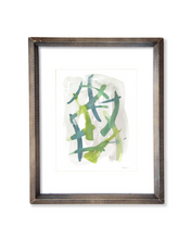 Layered Strokes - Original Watercolor Painting - No.4