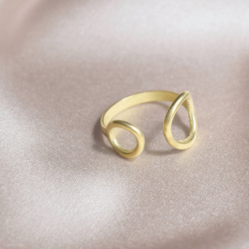 Double Circle Ring by Mashallah