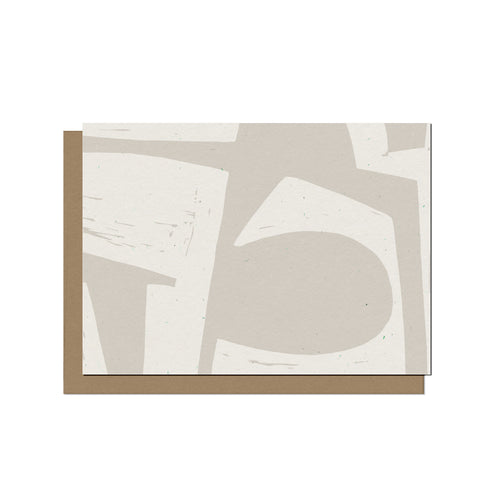 Abstract Shapes No.1 | Blank Card