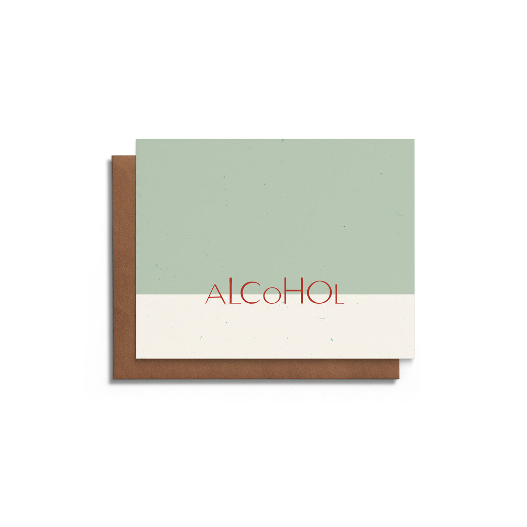 Alcohol | Funny Christmas Card