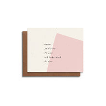 Love Languages | Love Card