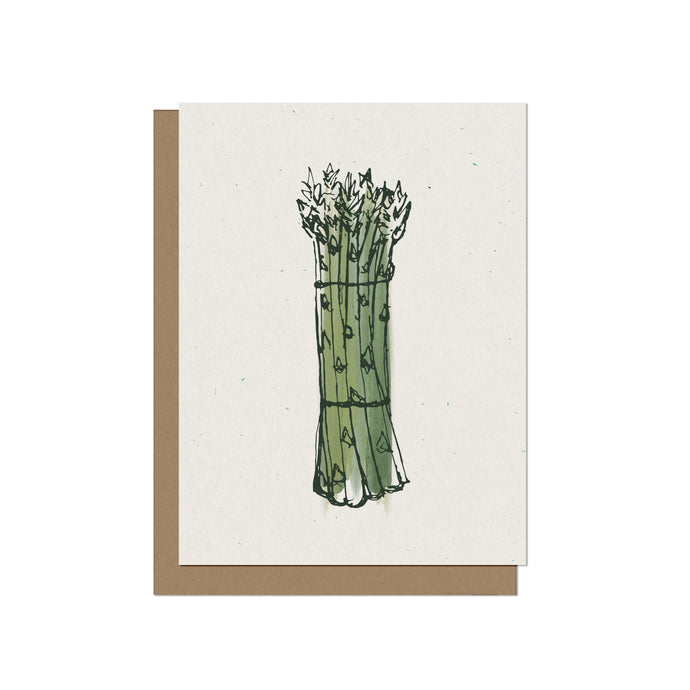 Asparagus Bundle - Blank Card