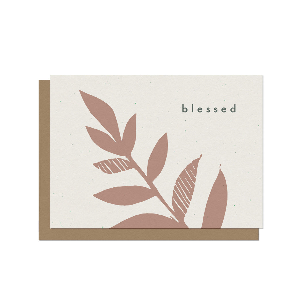 Blessed Blank Card