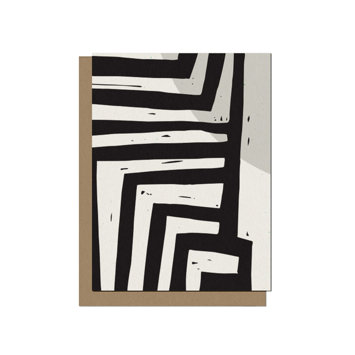 Bold Lines | Blank Card