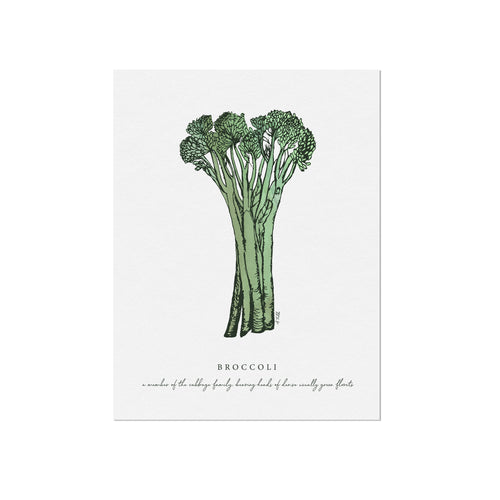 Broccoli Veggie Illustration