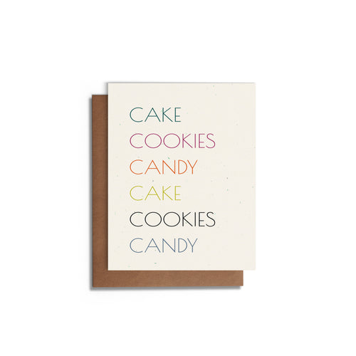 Sweets | Love, Birthday or Appreciation Card