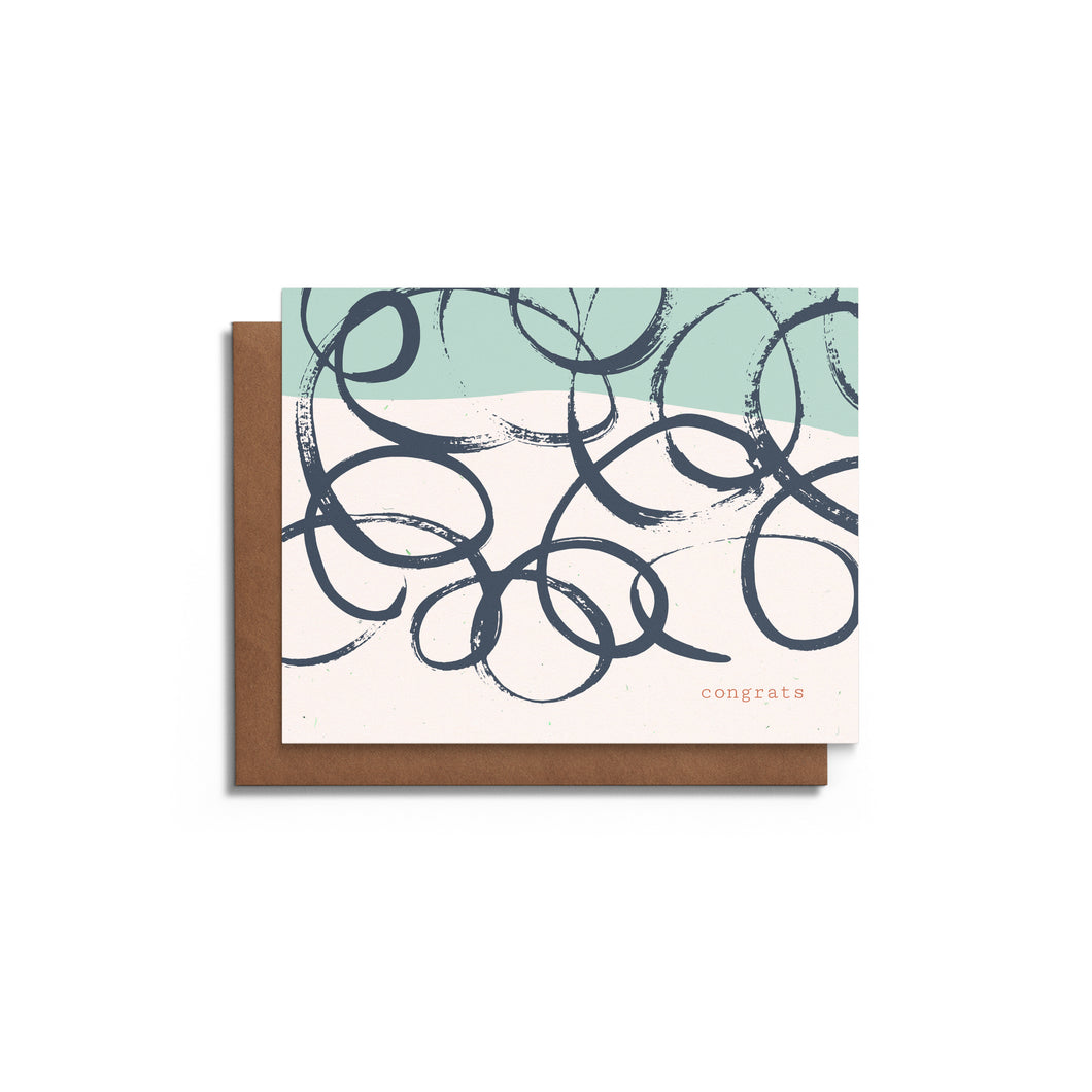 Swirls | Blank Card