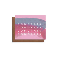 Congrats with Watercolor | Blank Card