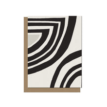 Curved Forms | Blank Card