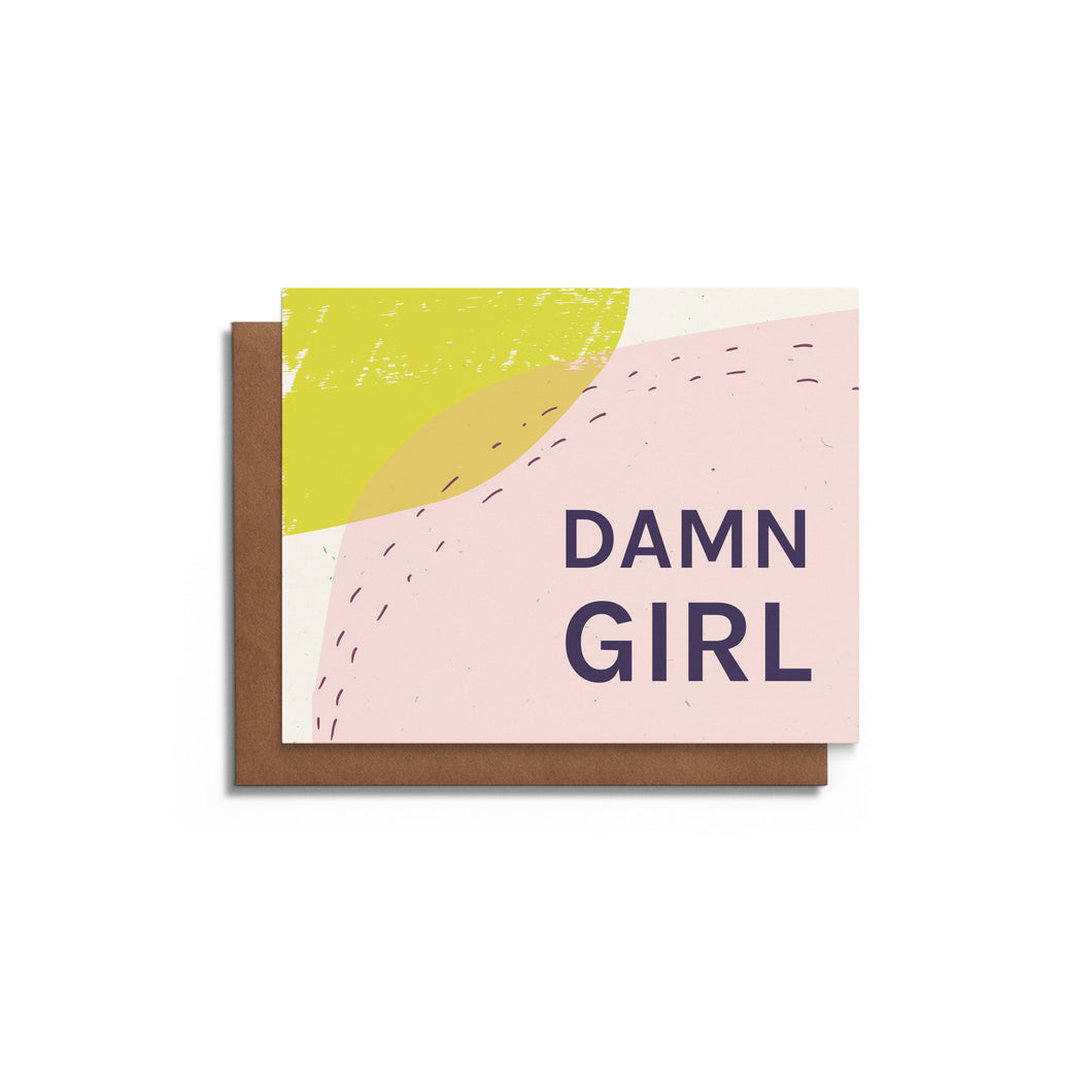 Damn Girl - Humorous Mother's Day Card