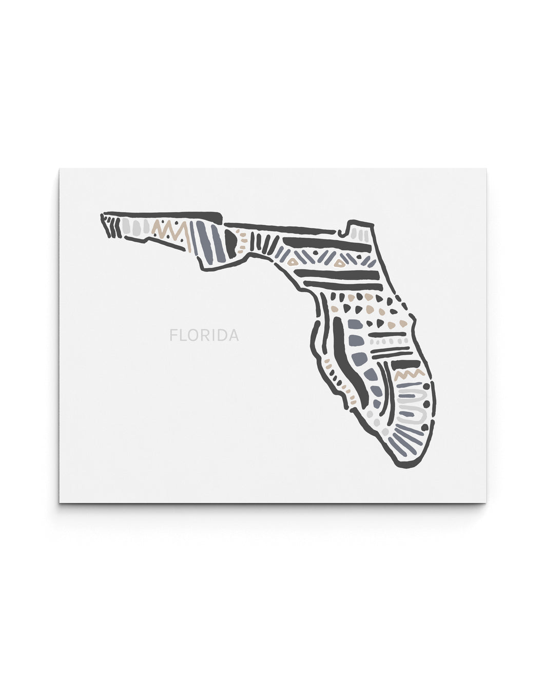 Florida State | Map Art Print | SI-FL