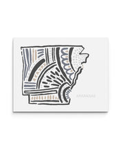Arkansas State | Map Art Print | SI-AR