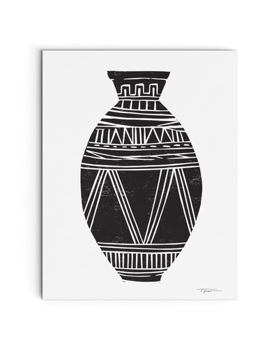 Patterned Vase Illustration