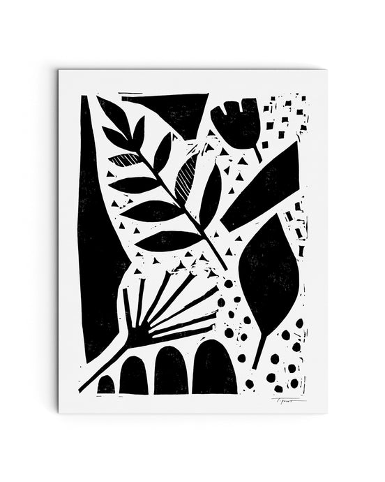 Nature in the Abstract | Block Print