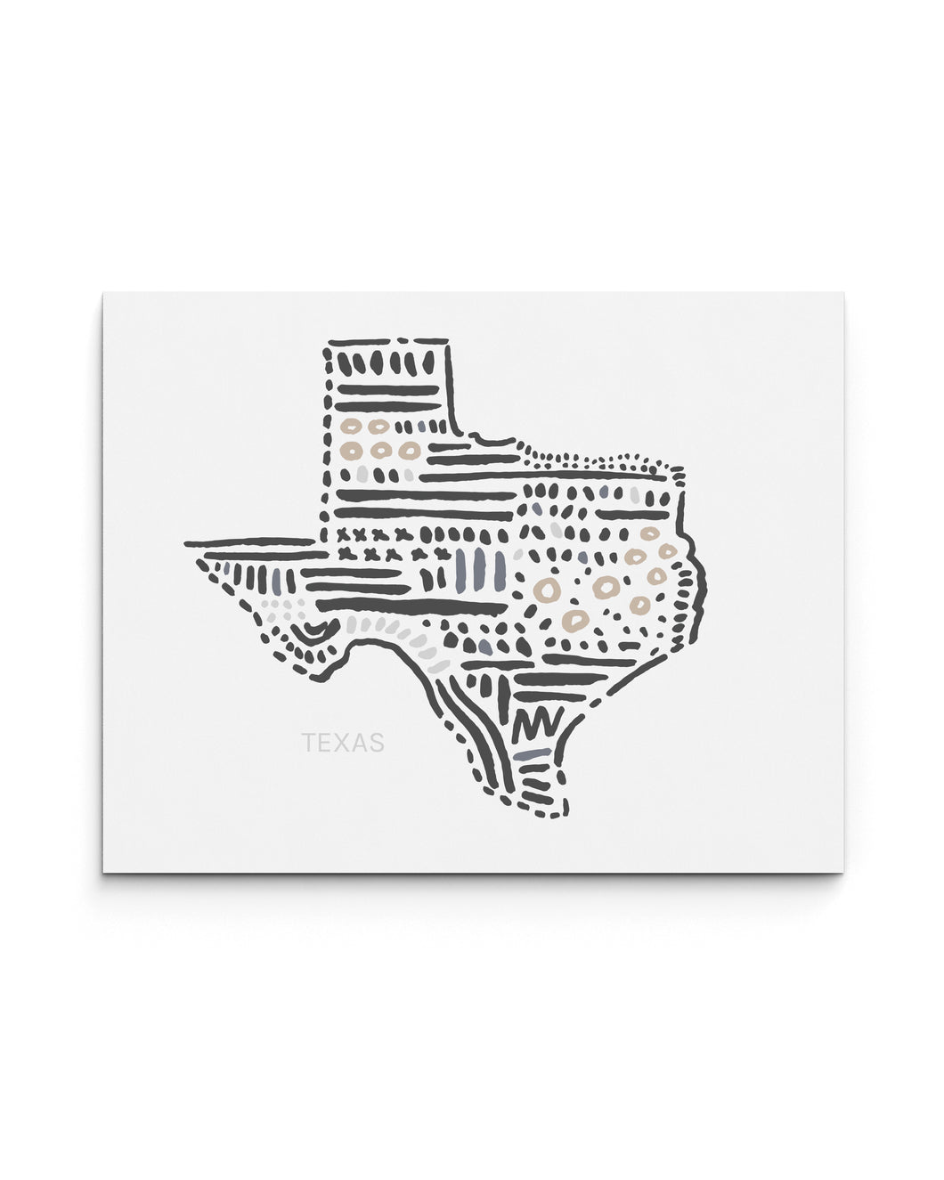 Texas State | Map Art Print | SI-TX