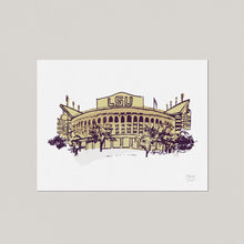 LSU Tiger Stadium - Art Print