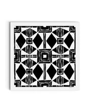 Square Spanish Tile | Block Print