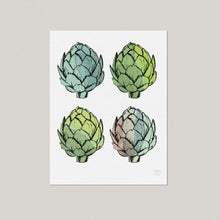Artichoke Kitchen Art Print