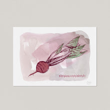 Beet Kitchen Art Print