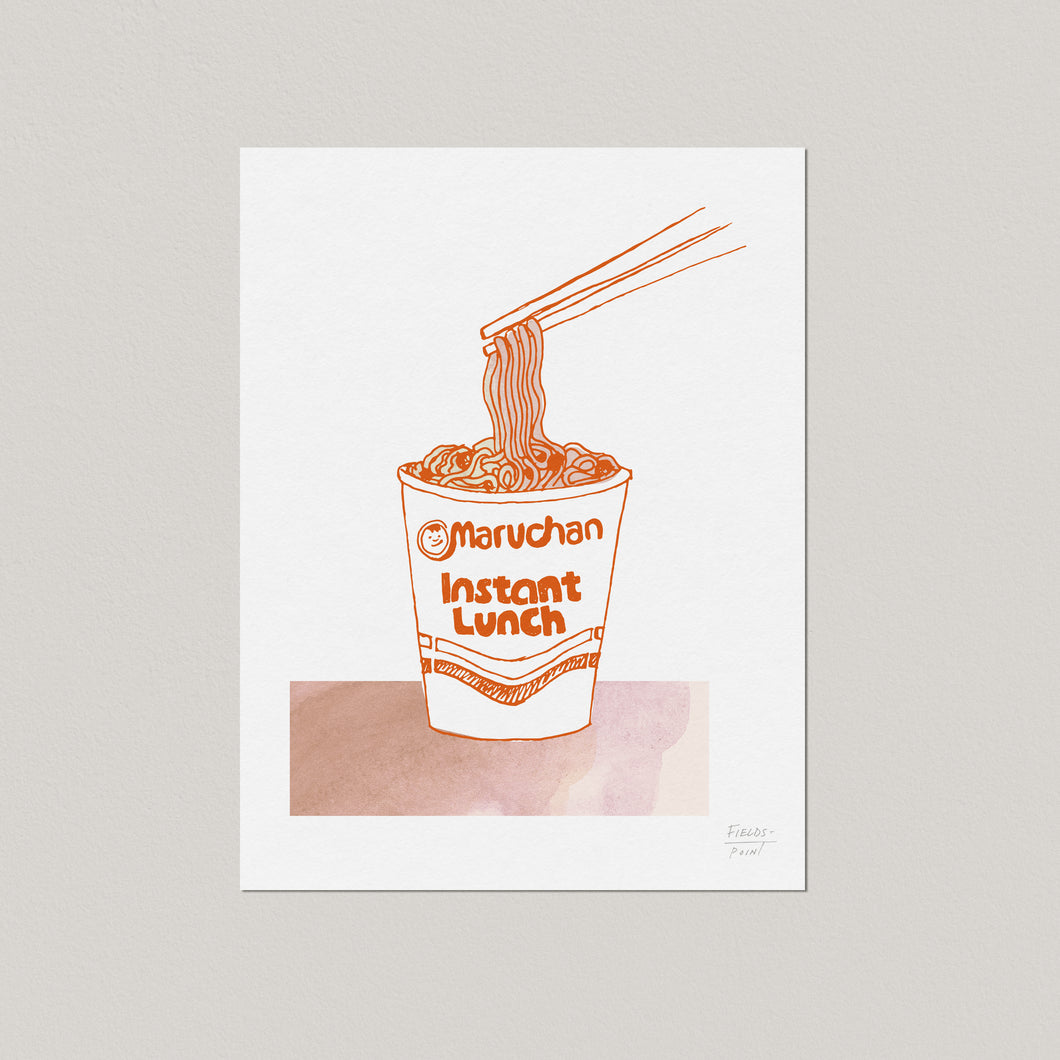 Ramen Food and Kitchen Art Print