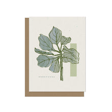 Fiddle Leaf Fig Tree - Blank Card