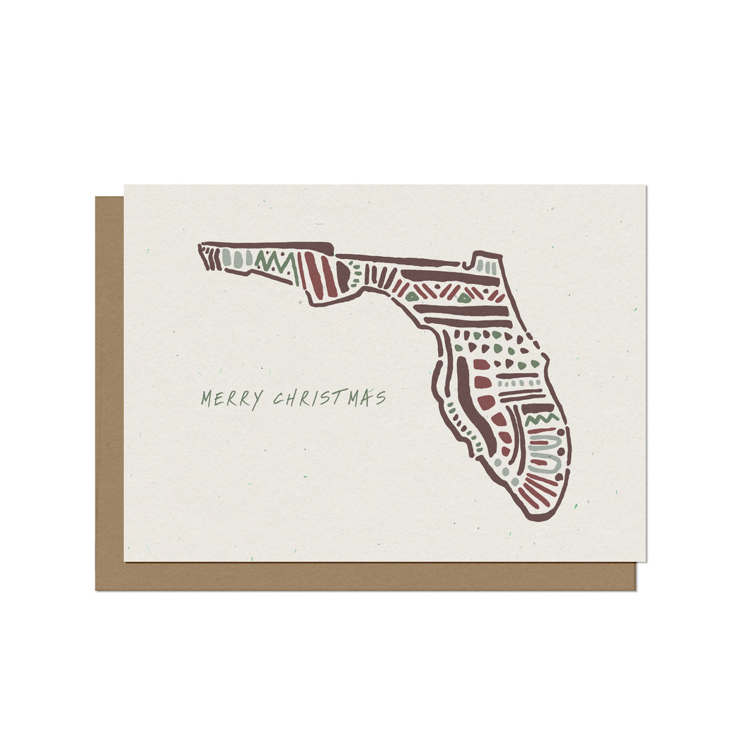 Florida State - Christmas Card